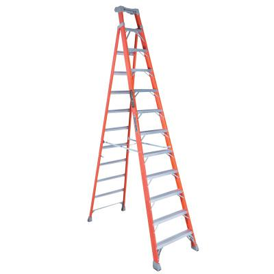 Louisville Ladder Fs1500 Series Fiberglass Step Ladder 12