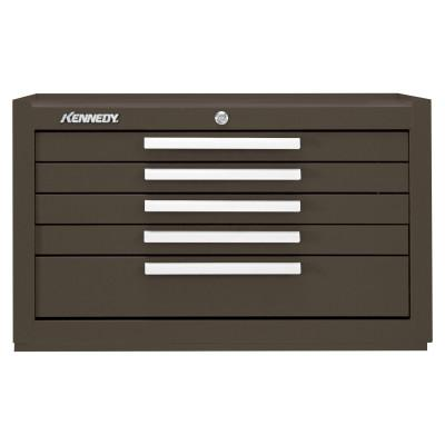 KENNEDY Snap-In Mechanics' Chests, 27 in x 18 in x 16 5/8 in, Brown Wrinkle