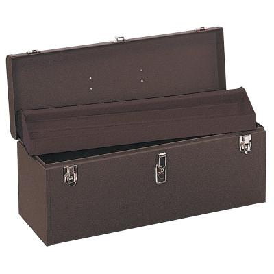 "KENNEDY 24 "" Professional Tool Boxes, 24 1/8""W x 8 5/8""D x 9 3/4""H, Steel, Brown Wrinkle"