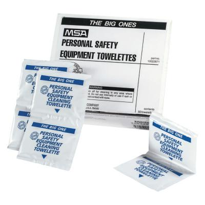 MSA Antiseptic Cleansing Wipes, 8 x 11