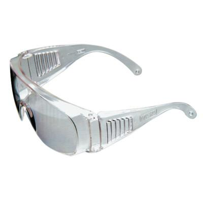 MSA Plant Visitor Rx Overglasses, Clear Lens, Polycarbonate, Clear Frame