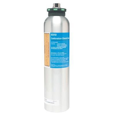 MSA Econo-Cal™ RP Reactive Gas Calibration Cylinder, 34 L, 1.45% CH4, 15% O2, 60 PPM CO, 20 PPM H2S, Aluminum
