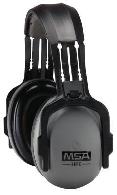 MSA Sound Control Earmuffs, 26 dB NRR, Gray/Black, Headband