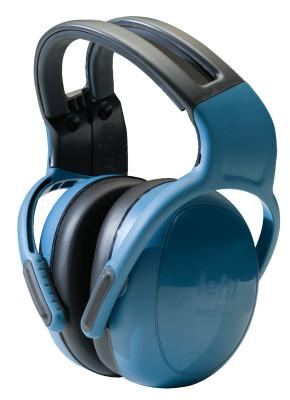 MSA left/RIGHT Earmuffs, 25 dB NRR, Blue, Headband