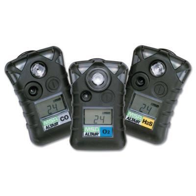 MSA ALTAIR® Single-Gas Detector, Carbon Monoxide (CO), 0 to 550 ppm Sensor Range, Audible/Visual/Vibrating Alarm Type