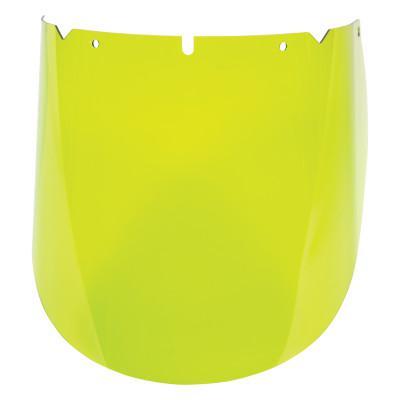 MSA V-Gard Arc Visors, Arc Flash 10115847, Green