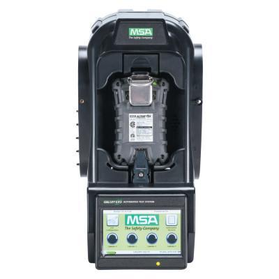 MSA GALAXY GX2 Auto Test System, Altair 4/4X Multi-Gas Detectors, 1 Valve