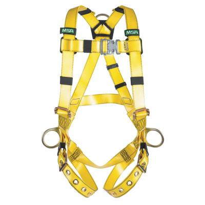 MSA Gravity Coated Harness, Hip D-Rings, Standard