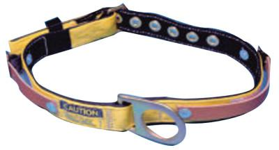 MSA Miners Body Belt, Tongue Buckle, Fixed D-Ring, Large