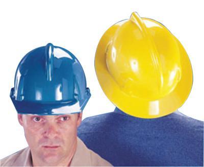MSA Topgard Protective Caps & Hats, Fas-Trac Ratchet, Cap, Yellow