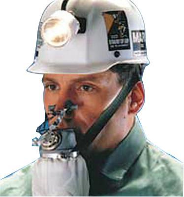 MSA W65 Self-Rescuer Respirator, Carbon Monoxide, Includes Protective Steel Case
