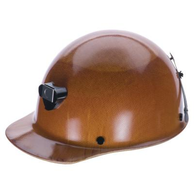 MSA Skullgard Protective Caps and Hats, Staz-On, Cap, Lamp Bracket/Cord Holder, Tan