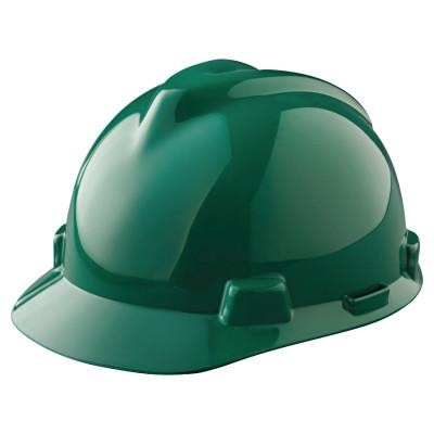 MSA V-Gard Protective Caps, Staz-On, Cap, Green