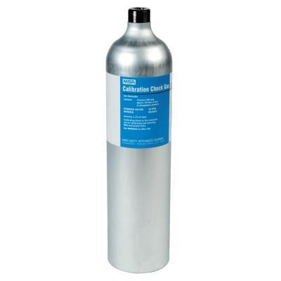 MSA Calibration Gas Cylinder, Hydrogen Sulfide 40 ppm, 58L
