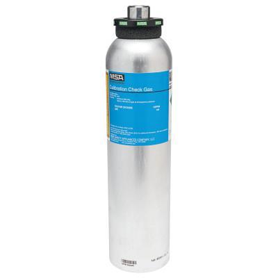 MSA Calibration Gas Cylinder, Sulfur Dioxide, 10 ppm, 58L