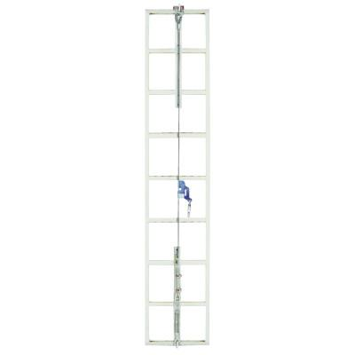 MSA Sure Climb Ladder Cable System, Galvanized Steel, 5/16 in x 30 ft