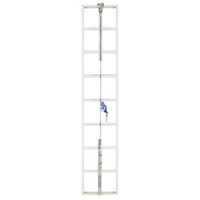 MSA Sure Climb Ladder Cable System, Galvanized Steel, 5/16 in x 40 ft