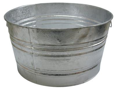 MAGNOLIA BRUSH 59.18-QT. GALVANIZED TUB
