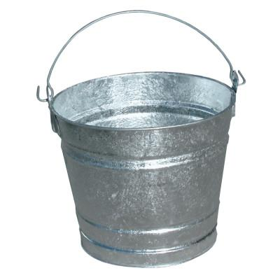 MAGNOLIA BRUSH 12QT GALVANIZED WATER PAIL