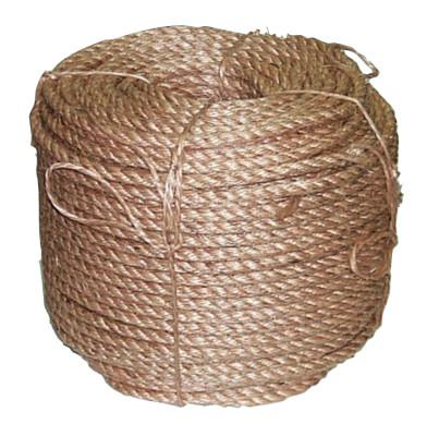 ANCHOR BRAND Manila Rope, 4 Strands, 1 1/4 in x 100 ft