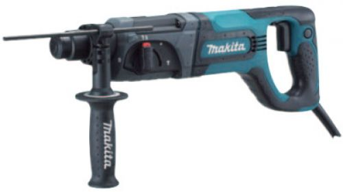 MAKITA SDS-Plus Rotary Hammers, 1 in Drive, Back D-Handle/Side Rod