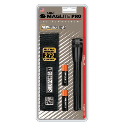 MAG-LITE Mini MAG-Lite® Pro Flashlight, 2 AA, Black