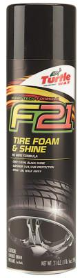 TURTLE WAX T-49 F21T Tire Foam and Shine Cleaner