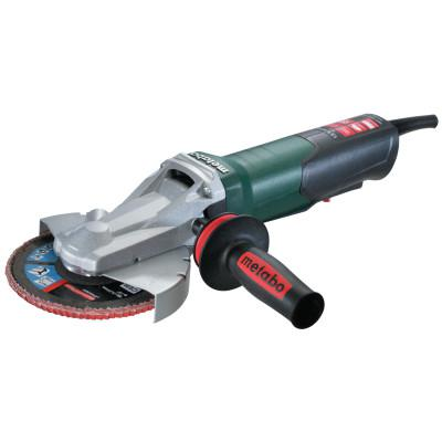 "METABO Quick Flat Head Angle Grinder,6"" Dia,13.5 A,9,600 RPM,Non-Locking Paddle Switch"