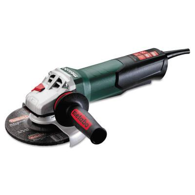 METABO WEP 12-150 Quick Angle Grinders, 6 in Dia., 9,600 rpm, Trigger