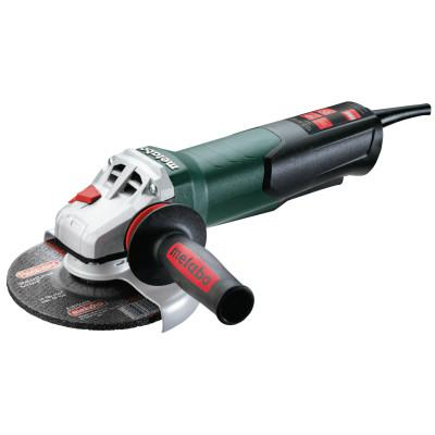 METABO WPB 12-150 Quick Angle Grinder, 6 in, 10.5 A, 9,600 rpm, Side Handle