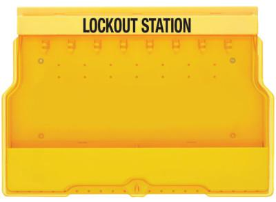 MASTER LOCK Safety Series Lockout Stations, 22 in, Unfilled