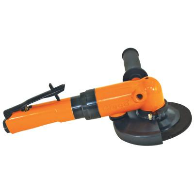 "CLECO 2260 Series Angle Grinder, 8,400 RPM, 5/8"" - 11 Spindle Thread, 7"" Dia."