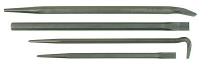 MAYHEW TOOLS 4 Piece EC Pry Bar Sets, 14 & 20in Line-Up; 16in Rolling Head; 18 in Chisel