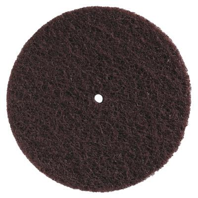 MERIT ABRASIVES High Strength Buffing Discs, 12 in, Medium