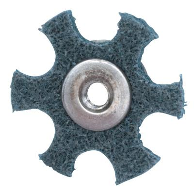 MERIT ABRASIVES Surface Preparation Star 1 1/2 X 1/4-20 Very Fine