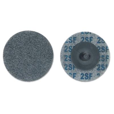 MERIT ABRASIVES Deburring and Finishing Button Mount Wheels Type lll, 2 x 1/2, Fine, 2-3 Density