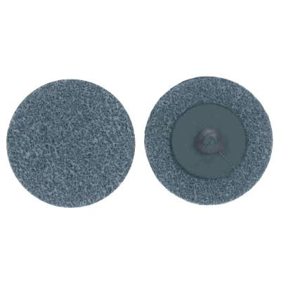 MERIT ABRASIVES Deburring and Finishing Button Mount Wheels Type lll, 3 x 1, Silicon Carbide