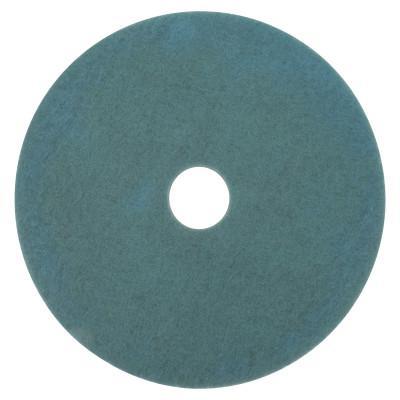 3M OH&ESD Burnish Pads, Polyester/Nylon, Aqua