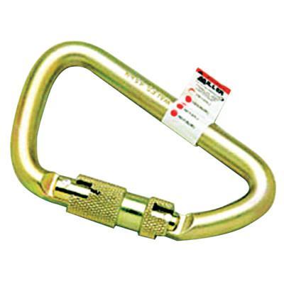HONEYWELL MILLER Twist Lock Carabiners, 1 in, Twist Lock Carabiner