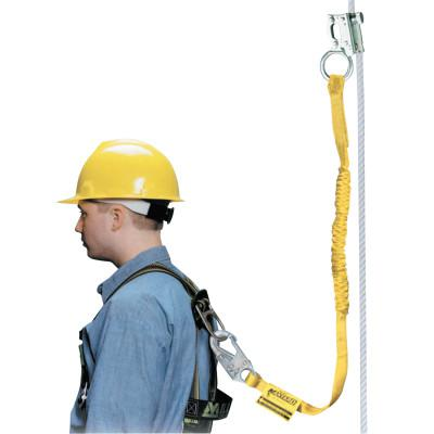 HONEYWELL MILLER Rope Grabs, 4 ft, 310 lb, Yellow
