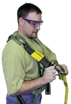 HONEYWELL MILLER D-Ring Extensions, 18 in Long, 400 lb Capacity