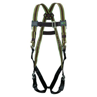 HONEYWELL MILLER DuraFlex Stretchable Harnesses, Back DRing, Mating Chest&Legs;Friction Shoulders