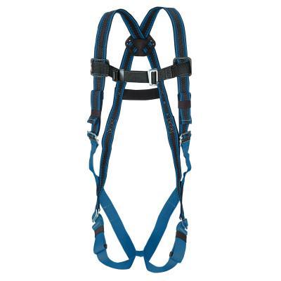 HONEYWELL MILLER DuraFlex Ultra Harnesses, Back D-Ring, Quick Connect, Universal, Blue
