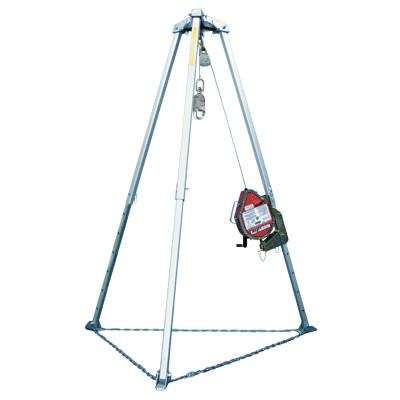 HONEYWELL MILLER MightEvac Self-Retracting Lifelines, 130 ft, Carabiner, 310 lb, Carabiner, 1 Leg