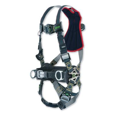 HONEYWELL MILLER Revolution Arc-Rated Full Body Harness, D-Ring, L/XL, Quick Connect