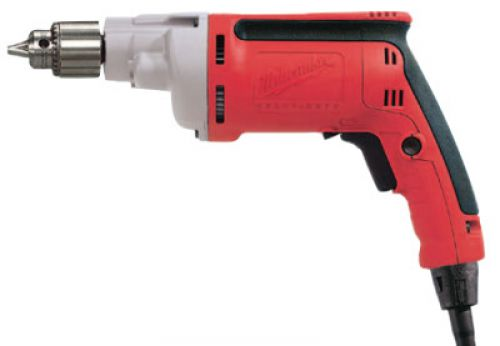 MILWAUKEE ELECTRIC TOOLS 1/4 in Magnum Drills, Keyed Chuck, 4,000 rpm