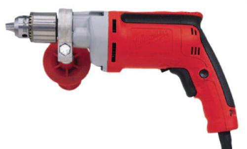 MILWAUKEE ELECTRIC TOOLS 1/2 in Magnum Drills, Keyed Chuck, 850 rpm, Soft Pistol Grip