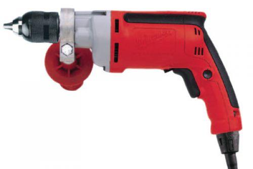 MILWAUKEE ELECTRIC TOOLS 1/2 in Magnum Drills, Keyless Chuck, 850 rpm, 8 Amp