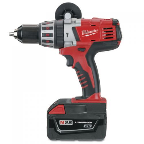 MILWAUKEE ELECTRIC TOOLS V28 Cordless Hammer/Drills, 1/2 in Chuck, 6 in lb Torque