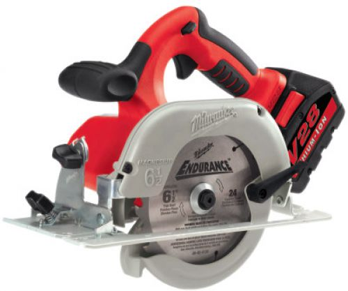 MILWAUKEE ELECTRIC TOOLS V28 Cordless Circular Saws, 28 V, 6 1/2 in Blade, 4,200 rpm